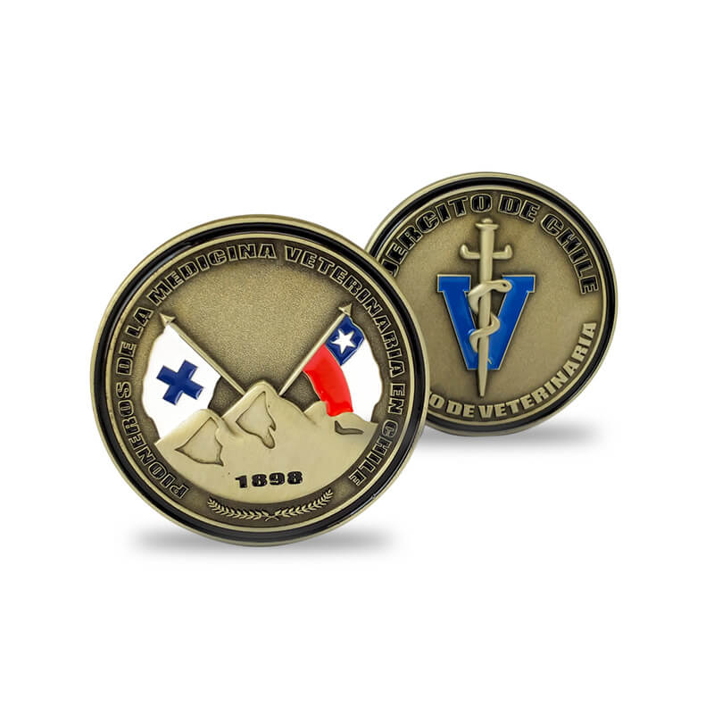 Chile Air force Challenge Coin