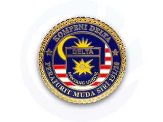 Malaysia Military Challenge Coins