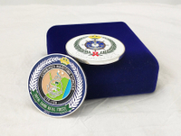 Custom Iron Stamping Soft Enamel Challenge Coins